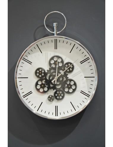 Zegar Metalowy 40x52x7