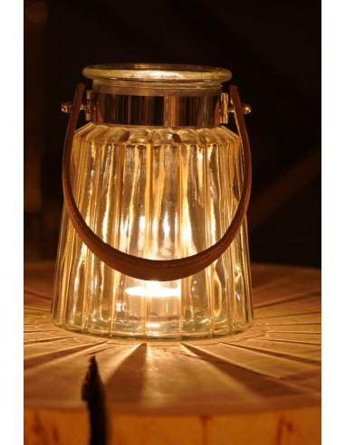 Lampion szklany 10x12